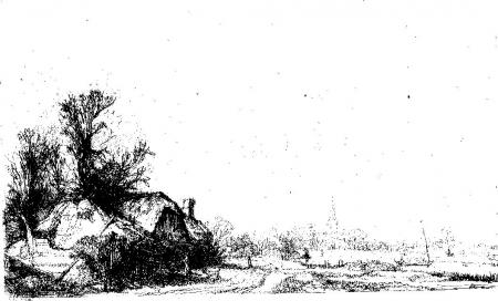 Chaumiere pres du canal
